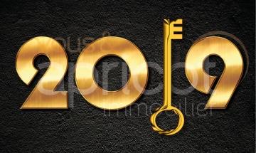 Apricot Immobilier vous souhaite une bonne année 2019